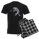 Disc Dog Missed It Men's Dark Pajamas