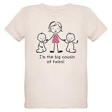 Big Cousin of Twins T-Shirt