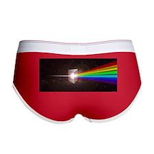 Space Prism Rainbow Spectrum Women's Boy Brief