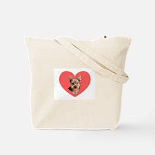 I LOVE YORKIES Tote Bag