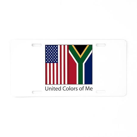 US SA Me Aluminum License Plate