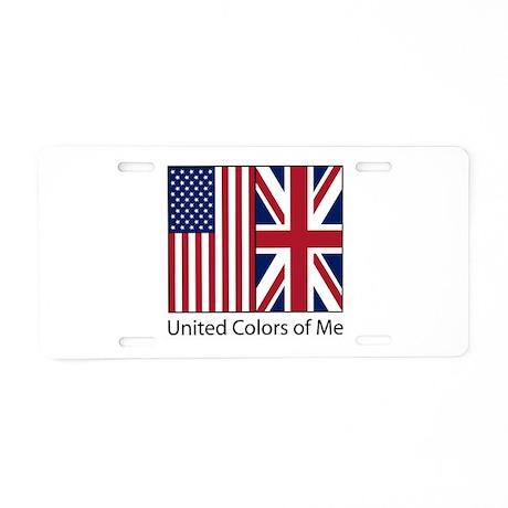 US UK Me Aluminum License Plate