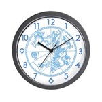 STAR MAPS:  1515 Durer Star Map Wall Clock