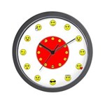 CHILDREN'S SERIES:  Smiley Wall Clock