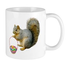 Squirrel Easter Basket Mug