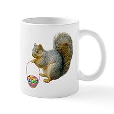Squirrel Easter Basket Small Mug
