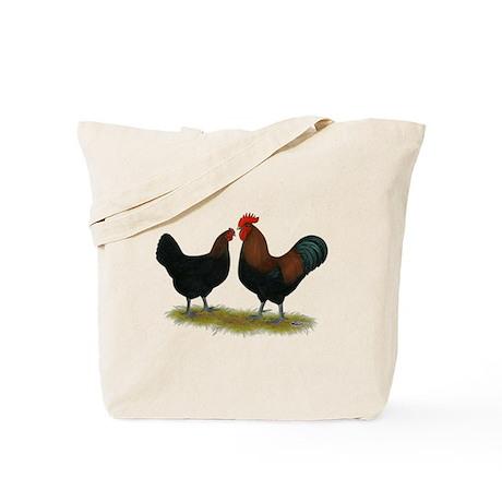 Marans Black Copper Tote Bag