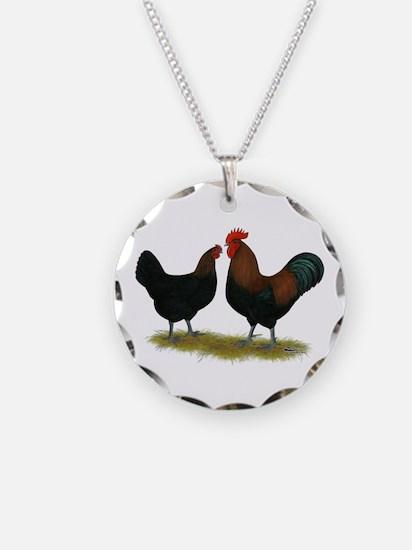 Marans Black Copper Necklace