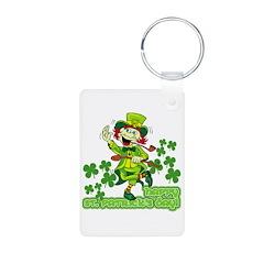 St Patricks Day Leprechaun Keychains