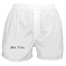Mrs. Velez Boxer Shorts