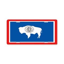 """Wyoming"" Aluminum License Plate"