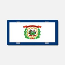 """West Virginia Flag"" Aluminum License Pl"