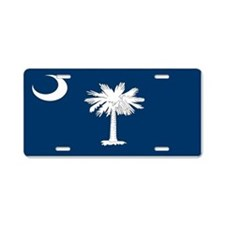 """South Carolina Flag"" Aluminum License P"