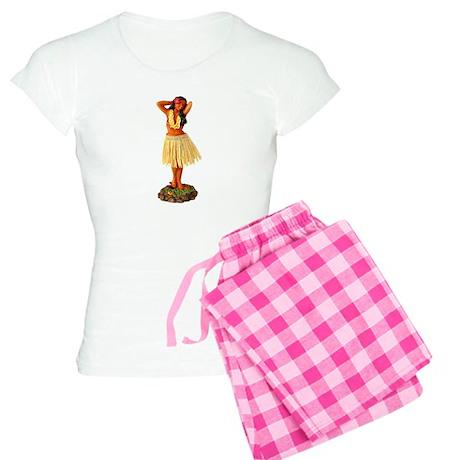 Retro Hula Girl Women's Light Pajamas
