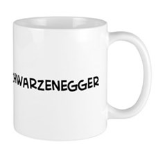 I Love Arnold Schwarzenegger Mug
