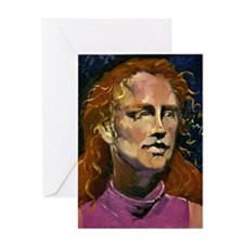 Red Headed Girl Greeting Card