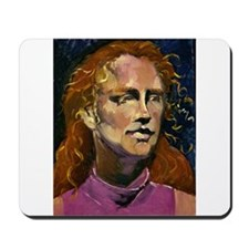 Red Headed Girl Mousepad