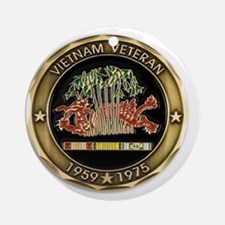 VIETNAM Ornament (Round)