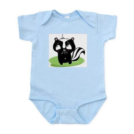 Embarrased Skunk Infant Creeper