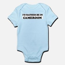 Rather be in Cameroon Infant Creeper