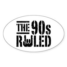 The 90's Ruled Decal