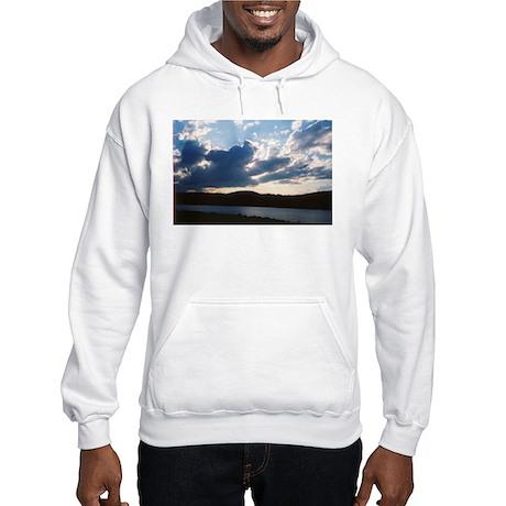 Clouds over Cowanesque Hooded Sweatshirt