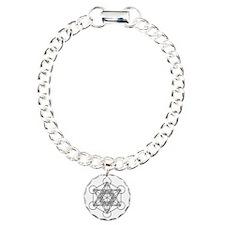 Metatrons Cube Charm Bracelet, One Charm