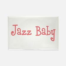 Jazz Baby Rectangle Magnet