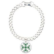 Triquetra Cross Charm Bracelet, One Charm