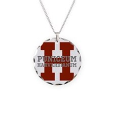 Harvard Crimson Necklace