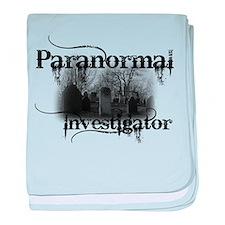 Unique Paranormal investigator baby blanket