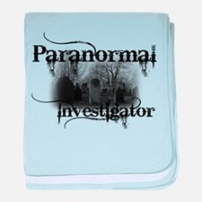 Cute Paranormal investigator baby blanket
