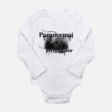 Funny Investigating Long Sleeve Infant Bodysuit