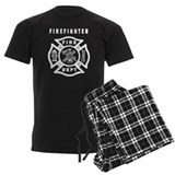 Firefighter Men's Pajamas Dark