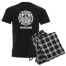 Firefighter Wedding Cake Pajamas