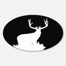 Monster Buck Sticker (Oval)