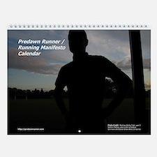 Predawn Runner / Running Manifesto Calendar