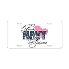 Funny Navy captain Aluminum License Plate