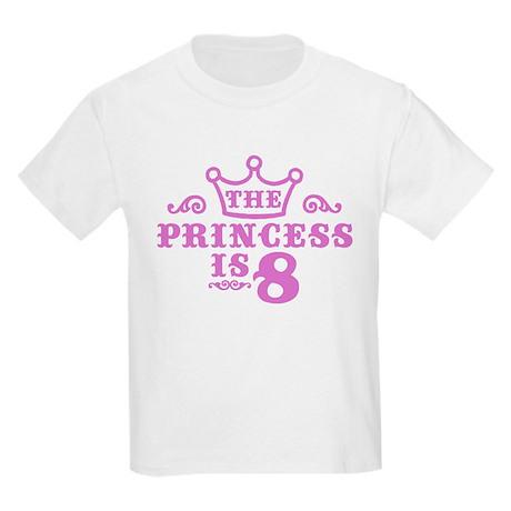 8th Birthday Kids Light T-Shirt