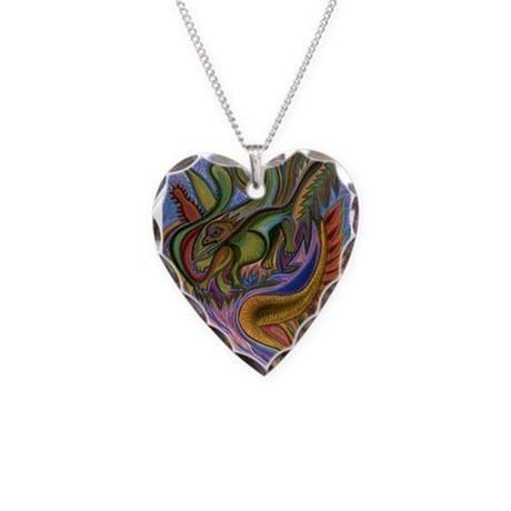 Valley Cat 18 Necklace Heart Charm