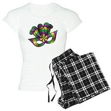 Mardi Gras Mask Pajamas