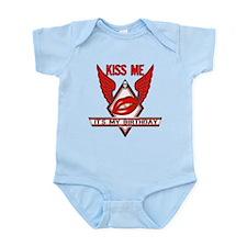 Birthday Kiss Infant Bodysuit