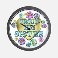 Proud Big Sister Wall Clock