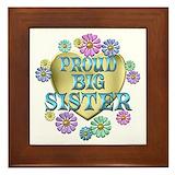 Big sister Framed Tiles