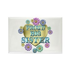 Proud Big Sister Rectangle Magnet