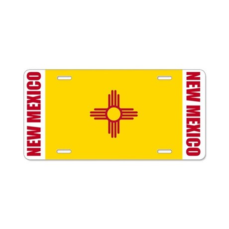 New Mexico Aluminum License Plate