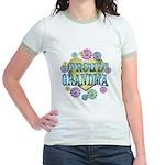 Proud Grandma Jr. Ringer T-Shirt