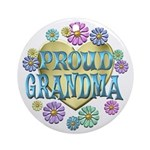 Proud Grandma Ornament (Round)