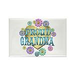 Proud Grandma Rectangle Magnet (10 pack)