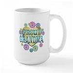Proud Grandma Large Mug